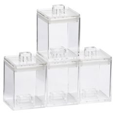 Stash Canister Mini Set of 4 | Freedom Furniture and Homewares