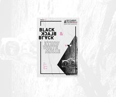 B&W+C2018 on Behance Graphic Design Layouts, Brochure Design, Layout Design, Web Design, Plakat Design, Diy And Crafts, Identity, Typography, Behance