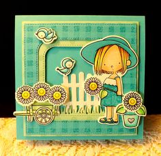 Garden Girl by DJRants - Cards and Paper Crafts at Splitcoaststampers