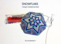 Herringbone Stitch, Printed Pages, Peyote Stitch, Selling Jewelry, Beading Tutorials, Loom Beading, Make And Sell, Snowflakes, Beaded Jewelry