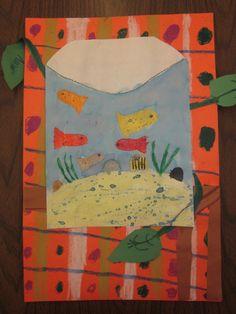 1st Grade Matisse Fishtanks