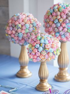 How We Included Our Children in Our Blended Wedding : lollipop bouquet, topiary, candy bar, wedding Lollipop Bouquet, Candy Bouquet, Candy Bar Wedding, Our Wedding, Wedding Reception, Wedding Kids Tables, Kids In Wedding, Buffet Wedding, Reception Food
