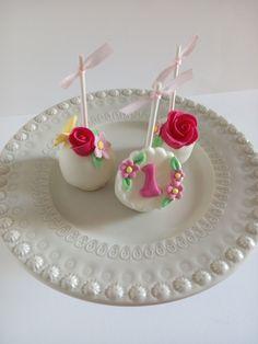 Cakepops para 1º aniversário de Menina