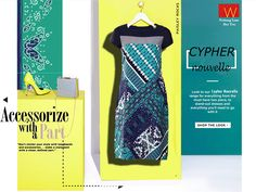 The shopping guide is now here http://www.wforwoman.com/products/ss15-latest-collection/summer15-topwear/