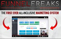 Happy Saturday Funnel Freaks!   We are so excited!  Launching Now!  The FIRST EVER ALL-INCLUSIVE MARKETING SYSTEM!   All online marketers and entrepreneurs need this!   No more $30 here & $50 there & trying to integrate it all!   Leads ✅  Done for you gen
