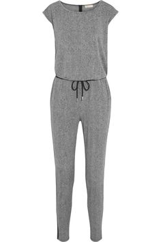 MICHAEL MICHAEL KORS Lansdown Printed Stretch-Crepe Jumpsuit. #michaelmichaelkors #cloth #jumpsuit