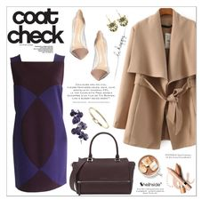 """""""Get the Look: Cool Coats"""" by aurora-australis ❤ liked on Polyvore featuring moda, Versace, Gianvito Rossi, L'Oréal Paris, Pier 1 Imports, Sheinside, polyvoreeditorial y coolcoat"""