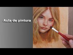 Pequena amostra de pintura estilizada para a amiga queridona Elisabete Krolikowski, obrigado sempre sua linda!!!