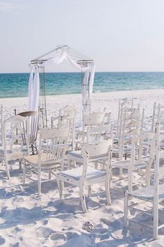 love the openness  height of this arch so u can see the ocean. The assortment of chairs is cool actually!