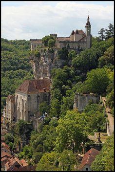 Château de Rocamadour, Dordogne, France