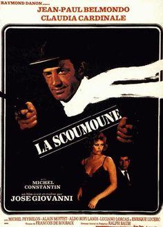 """Les années 70, encore une décennie phare pour de beaux rôles pour Claudia, comme dans ces 2 films, avec 2 duos de charme, BARDOT-CARDINALE en 1971, dans """"Les pétroleuses"""" de Christian JAQUE ou encore en 1972 avec """"La Scoumoune"""" de José GIOVANNI avec en tandem, BELMONDO-CARDINALE... (affiches et photos des 2 films respectifs)."""