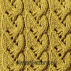 křížení 6 ok – Kaleidoskop vzorů pro ruční pletení Lace Knitting, Knitting Stitches, Knit Crochet, Rubrics, Lana, Stitch Patterns, Diy And Crafts, Polka Dots, Crocheting