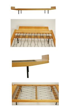 Gut 1950s Swiss Design Daybed / Bed By Architect Kurt Thut