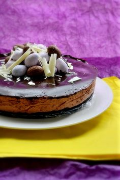 Easter Chocolate Mousse Torte