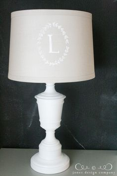 painted lampshade {tutorial} | Jones Design Company | stylish custom designs for life