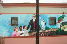 The Folk Art Paintings Keeping Obama's Legacy Alive In Urban Neighborhoods | The Huffington Post