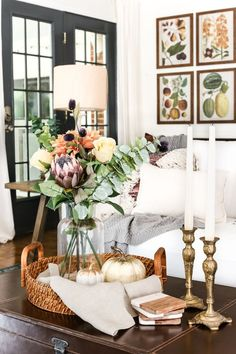 8 Fall Decorating Ti