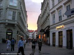Bratislava - anyone for a nice walk ...