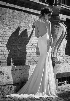 Atelier Signore sposa 2017 - Vestito da sposa pizzo e seta