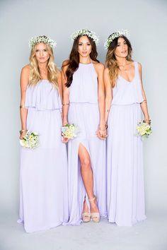 white bridesmaids - Google Search
