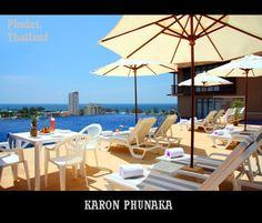 #KaronPhunaka. Infinity Swimming Pool over looking whole of Karon.