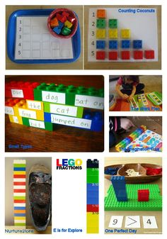 Free LEGO Printables and 70+ LEGO Learning Activities http://livingmontessorinow.com/2013/06/20/free-lego-printables-and-70-plus-lego-learning-activities/