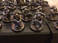 Iron Warriors by James John Pascoe‎ of Games Workshop Army Painters Facebook group