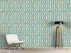 Design #Tapete Tropische Blätter