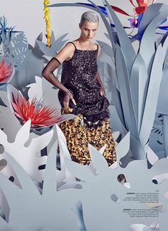 """Celestial Garden"" Anmari Botha for Archetype Magazine S/S 2015"