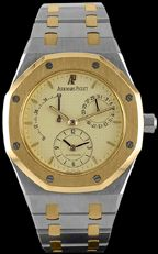 Audemars Piguet - SA 25730/789   Pre-Owned Royal Oak Dual Time, yellow gold & Steel