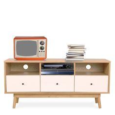 meuble tv design scandinave totem - Meuble Tv Scandinave Totem