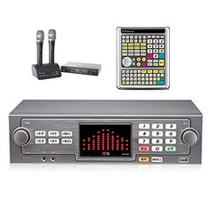 TJ Taijin Media TKR365HK Home Party Korea Korean Karaoke Singing Machine 500GB HDD System  2 Wireless Microphones  Professional Remote TIR304K Set Followup TKR304K -- Find out more about the great product at the image link.