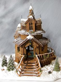 Gingerbread Recipe from Grove Park Inn in Asheville, NC~ Every year contestants display their houses here. The gingerbread houses are out of this world.