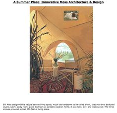 Innovative architecture & design from Bill Moss