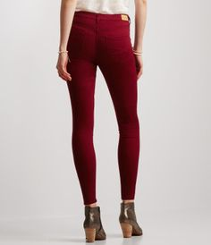 Seriously Stretchy Color Wash High-Waisted Jegging -