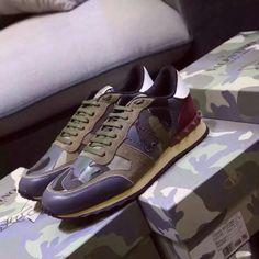 Valentino Garavani Rockrunner, All Genuine Cow leather Shoes