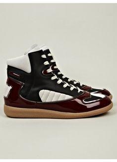 dd6fe72be6b Heren schoenen · MEN's HIGH TOP SNEAKERS Schoenen Sneakers, Herenschoenen,  Maison Martin Margiela, Sneakers Mode,