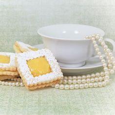 Elegant Lemon Filled Cookies