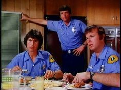 Randolph Mantooth, Mike Stoker, and Kevin Tighe as John, Mike and Roy. Mike was always my favorite! 1970s Tv Shows, Old Tv Shows, Battlestar Galactica Movie, Kevin Tighe, Randolph Mantooth, Emergency Doctor, Doctor On Call, Tv Show Casting, Nbc Tv