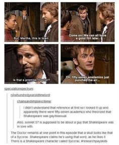 Wow, the Doctor teaches us history way better