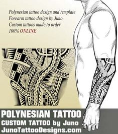 forearm tattoo, male tattoo, arm tattoo, polynesian tattoo, tribal tattoo, juno tattoo designs