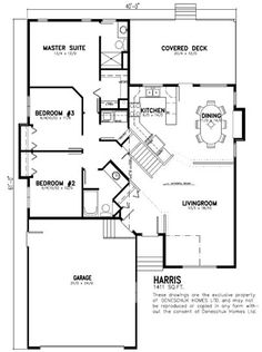 1500 sq ft ranch house plans with basement deneschuk for Farm house plans 1500 sq ft