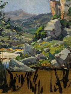 Hugo Naude Spanish Painters, Landscape Paintings, French Impressionist Painters, Western Art, Dutch Painters, Oil Painting Landscape, Paintings I Love, South African Art, Italian Painters