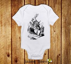 Alice's Adventures in Wonderland Onesie   33 Perfect Gifts For Book-Loving Babies