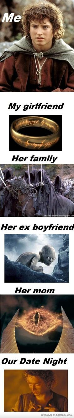 How My Current Relationship Relates To LOTR