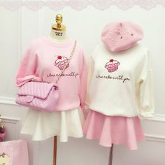 Japanese Cute Fashion Knit Sweater on Girly Girl の To Alice.Korean Sweet Ice Cream Knit Sweater Pink Preppy Pullover Gg520 is a must to make an amazing outfit. You can wear it in any occasion - school, office, dates, and parties.