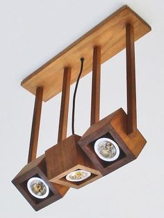 43 Cheerful Diy Wooden Lamp Designs To Spice Up Your Living Space. Lighting has become a more prominent feature in rooms for interior design these days, with. Wooden Lamp, Wooden Decor, Wooden Diy, Handmade Wooden, Handmade Lamps, Lampe Decoration, Into The Woods, Diy Holz, Wood Design