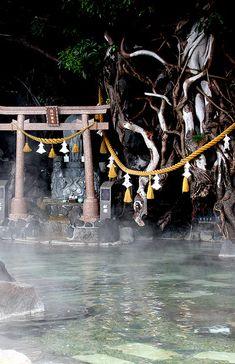Furusato Onsen, Kagoshima, Japan. I wanna be there, God-blessed hot spa, Kagoshima, Kyushu, JPN.