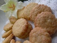 Galletas de la abuela Thermomix Cookies, Almond, Cake, Ethnic Recipes, Desserts, Food, Wafer Cookies, Crack Crackers, Salads
