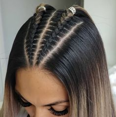 Amazing  Agree ? Credit @jefry.moreno06 ...-#hairofinstagram Cool Braid Hairstyles, Easy Hairstyles For Long Hair, Baddie Hairstyles, Braids For Long Hair, Hairstyle Ideas, Crazy Hairstyles, Latina Hairstyles, Fashion Hairstyles, Athletic Hairstyles